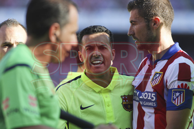 صور : مباراة أتليتيكو مدريد - برشلونة 0-1 ( 17-05-2015 )  1431890637518