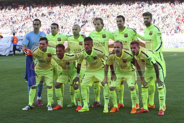 صور : مباراة أتليتيكو مدريد - برشلونة 0-1 ( 17-05-2015 )  1431890639338