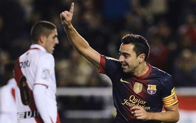 Xavi se retirará en el Barça 1352761447548