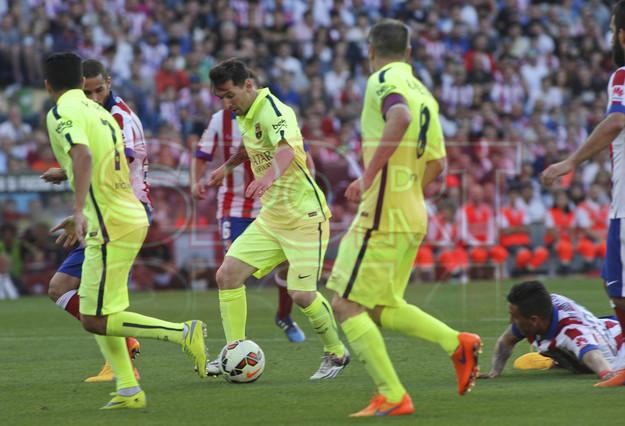 صور : مباراة أتليتيكو مدريد - برشلونة 0-1 ( 17-05-2015 )  1431890634958