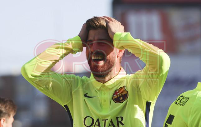 صور : مباراة أتليتيكو مدريد - برشلونة 0-1 ( 17-05-2015 )  1431890637458