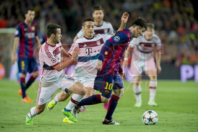 صور : مباراة برشلونة - بايرن ميونيخ  3-0 ( 06-05-2015 )  1430949383878