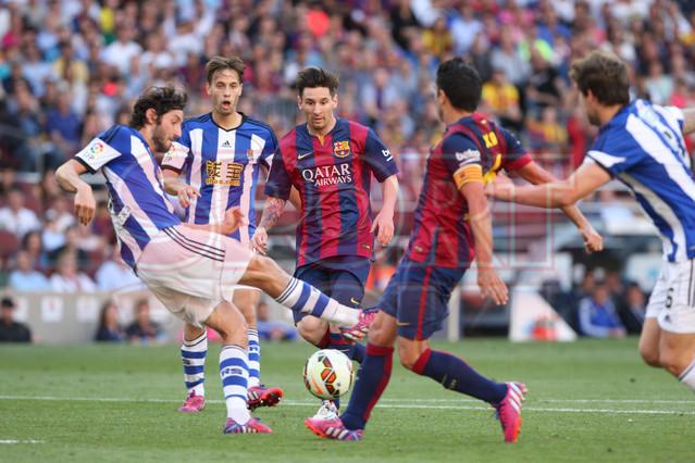 صور : مباراة برشلونة - ريال سوسيداد 2-0 (09-05-2015 ) 1431199812878