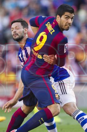 صور : مباراة برشلونة - ريال سوسيداد 2-0 (09-05-2015 ) 1431199816678