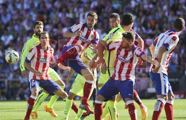 صور : مباراة أتليتيكو مدريد - برشلونة 0-1 ( 17-05-2015 )  1431890637478