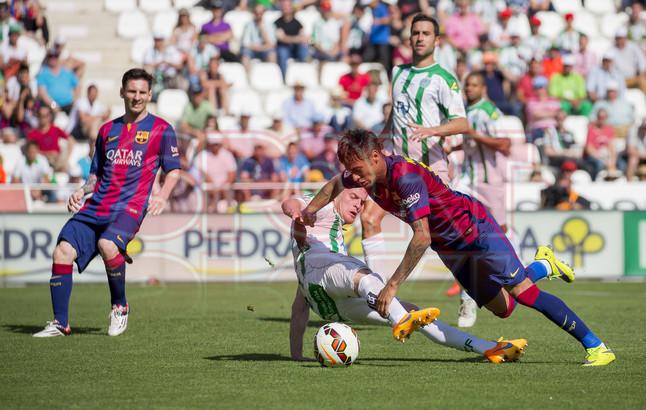 صور : مباراة قرطبة - برشلونة  0-8 ( 02-05-2015 )  1430583415609