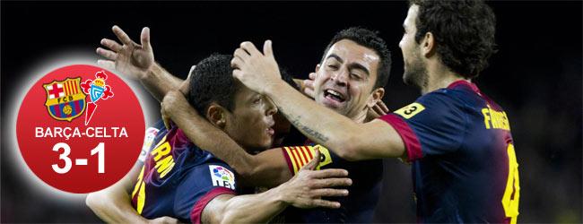 Futbol Club Barcelona vs Celta de Vigo jornada 10  1351969855719