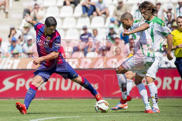 صور : مباراة قرطبة - برشلونة  0-8 ( 02-05-2015 )  1430583415639