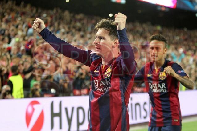 صور : مباراة برشلونة - بايرن ميونيخ  3-0 ( 06-05-2015 )  1430949388049