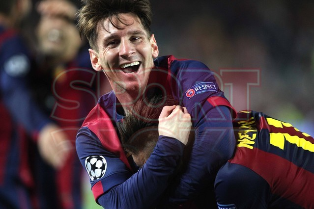 صور : مباراة برشلونة - بايرن ميونيخ  3-0 ( 06-05-2015 )  1430949383879