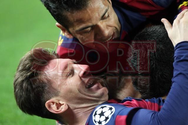 صور : مباراة برشلونة - بايرن ميونيخ  3-0 ( 06-05-2015 )  1430949387189