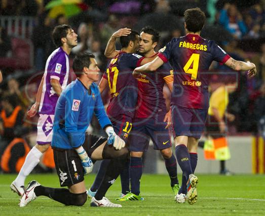 صور مباراة برشلونة - بلد الوليد 2-1 ( 19-05-2013 ) 1368998415399