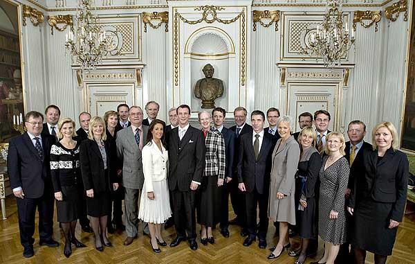 Joachim y Marie Cavallier, Príncipes de Dinamarca 1191412821_extras_fotos_gente_0
