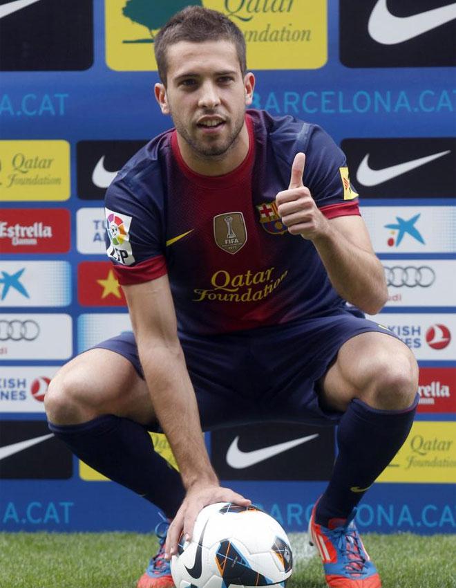 Jordi Alba, primer fichaje del Barça para la temporada que viene 1341510005_extras_albumes_0