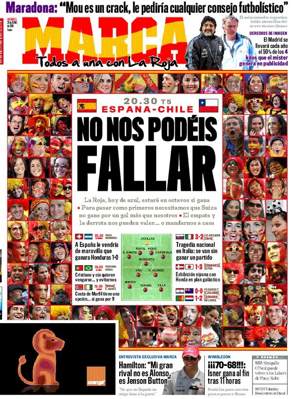 España - Chile G2506