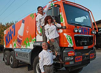 Juvanteny, Criado y Román, a repetir triunfo en camiones 6x6 1258656179_0