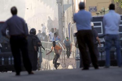 La legítima violencia de los disturbios de Melilla 1288164123_0
