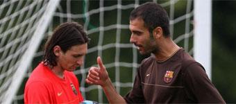 La primera charla de Pep en el Barça (no tiene desperdicio) 1353321952_extras_portada_1