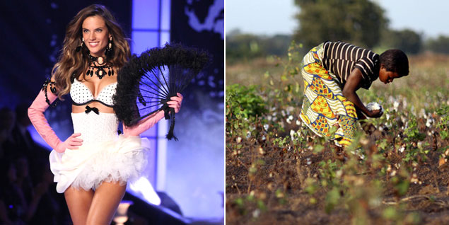 Lencería fina de algodón. Superexplotación de niñas y niños trabajando. Burkina Faso, EEUU.  1324035152_0