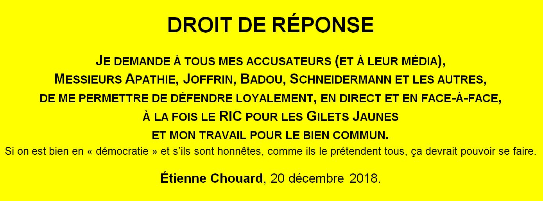 etienne chouard - La démocratie par Etienne Chouard DemandeDeDroitDeReponse_20_12_2108