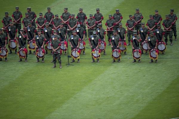 Ejército se suma a ceremonia previa al juego México-Costa Rica Mexico-costa-rica10-0