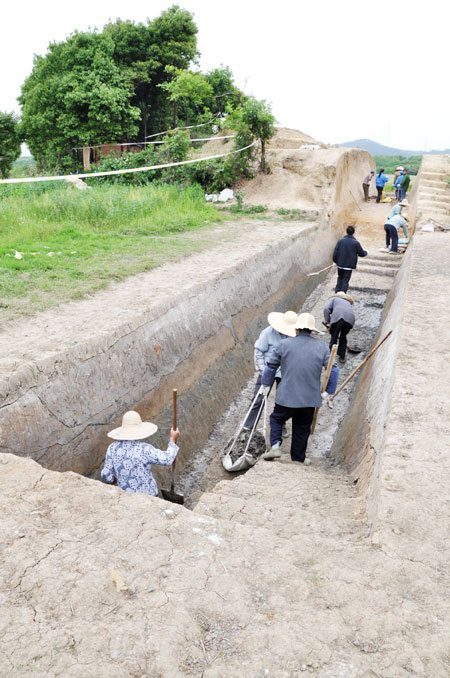 Scientists unearth an ancient city of Wu 0023ae69624d1217c8a10d