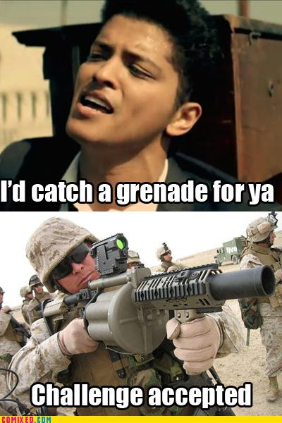 Pics that made you lol - Page 38 Catch-a-grenade
