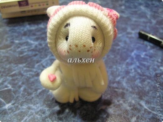 Дракон «Чудик» – мягкая игрушка из носков Dragon-handmade23