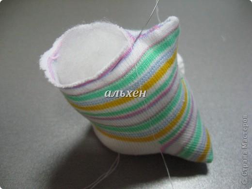 Дракон «Чудик» – мягкая игрушка из носков Dragon-handmade32