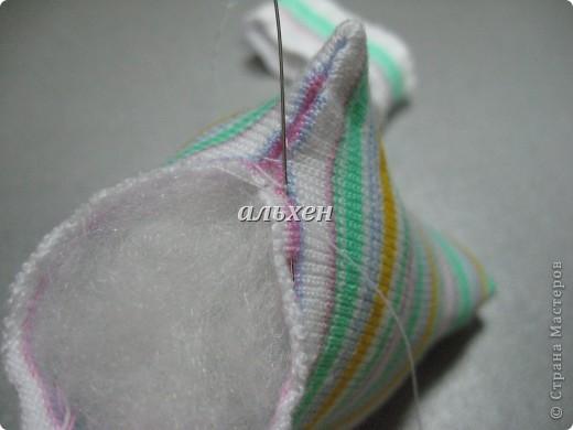 Дракон «Чудик» – мягкая игрушка из носков Dragon-handmade41