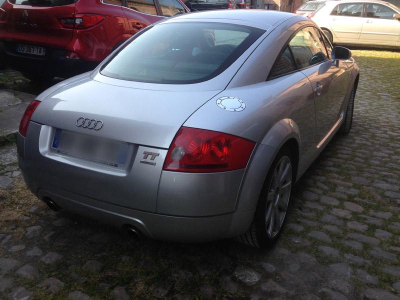 présentation d'un converti - Audi TT MK1 Tt2