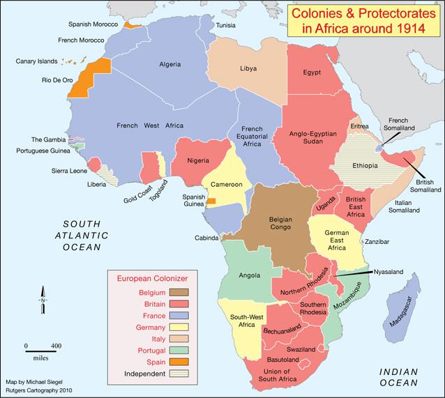 Centenario de la Primera Guerra Mundial - Página 2 African-col-1914
