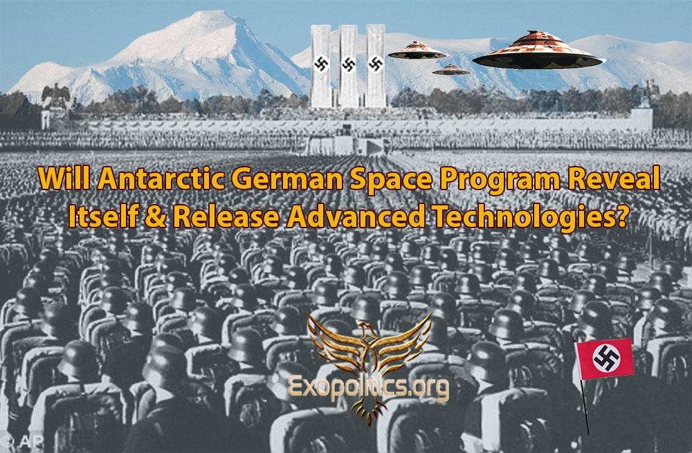 Будет ли раскрытие антарктической немецкой космической программы и выпуск передовых технологий? Antarctica-Nazis-Reveal-Themselves