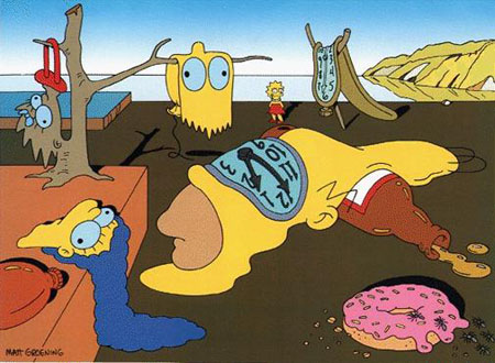 cosplays simpson 2 Simpsons-dali