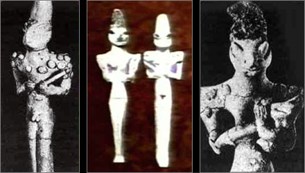 Alien Theory replay sur RMC Découverte - Page 3 Statuettes
