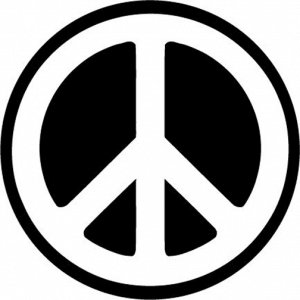Оккультные символы и их значение  PEACE-300x300