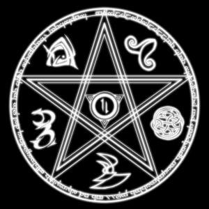 Оккультные символы и их значение  Pentagramma1-300x300