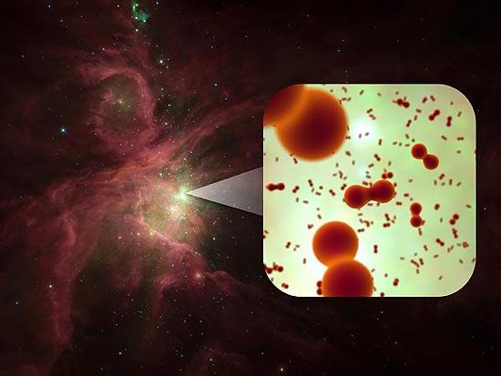 Moléculas de oxigénio encontradas no espaço 11213225