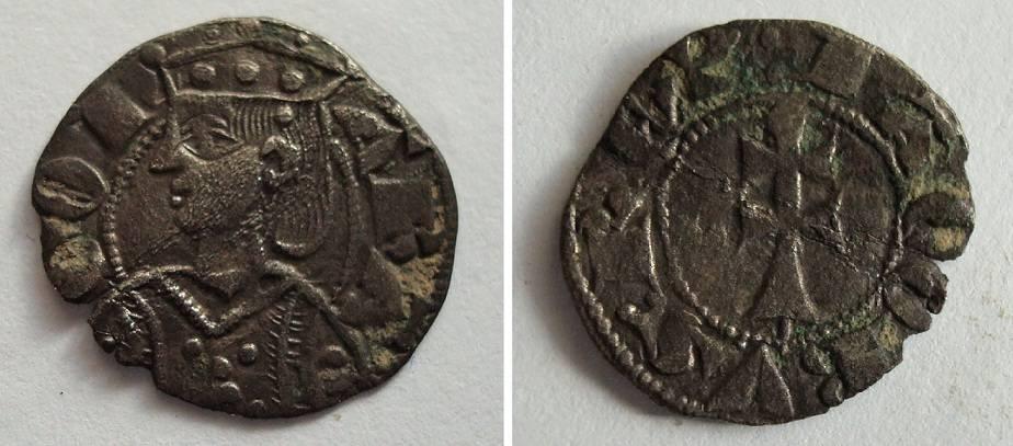 Dinero de Aragón de Jaime II.  6c653a6c7621cc3cc7c6e314c86cf09b5f143b114654562