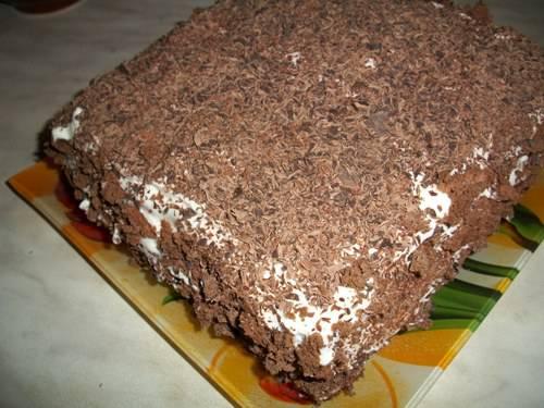 Торт с шоколадом и взбитыми сливками 5d61e61dae3835cf2b4b225ba91886432eb4e6203538918