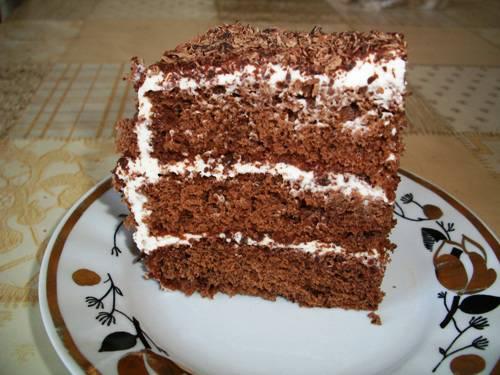 Торт с шоколадом и взбитыми сливками 627478dbed631d80e89860f38075efe82eb4e6203536587