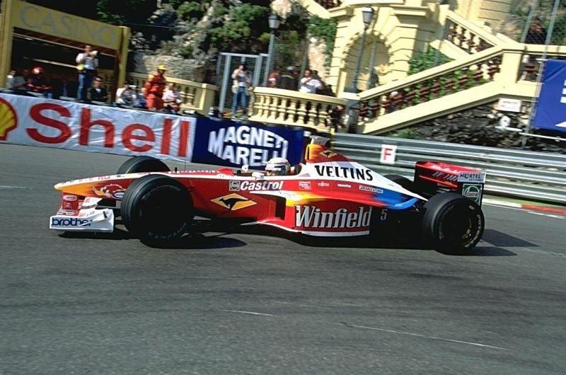 [F1] Williams - Page 3 FW21_Supertec_Zanardi_monaco