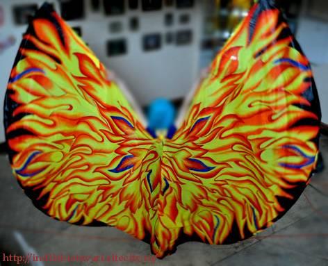 Крылья  для танца живота. 0884ce9b4ab0eefb91dd6023da00cf9605645f252851023