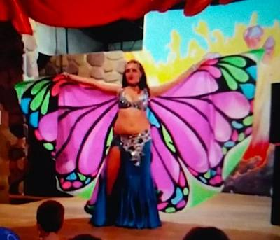 Крылья  для танца живота. 17701609ed528e8e3601ed7c43e9ddff056446254168867
