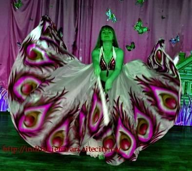 Крылья  для танца живота. 1f519038252e97e198b93830710107a9056455257025071