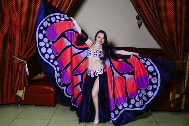 Крылья  для танца живота. 34804596f671bc01103ee55c5442d96b056455257025805