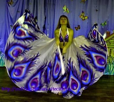 Крылья  для танца живота. 349ac98e0b276240dd9eb561a6cd1ceb056455257025011