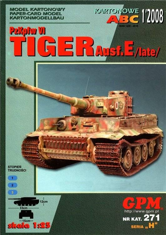 PzKpfw VI Tiger I Ausf.E.(late) – GPM №271 (1/2008) 35a7ac7045e5819d06c351ee1bfe6dcdbcba32240981245