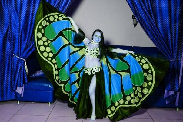 Крылья  для танца живота. 4245b989c4b6ede4169f366de1737cbe056455257025839