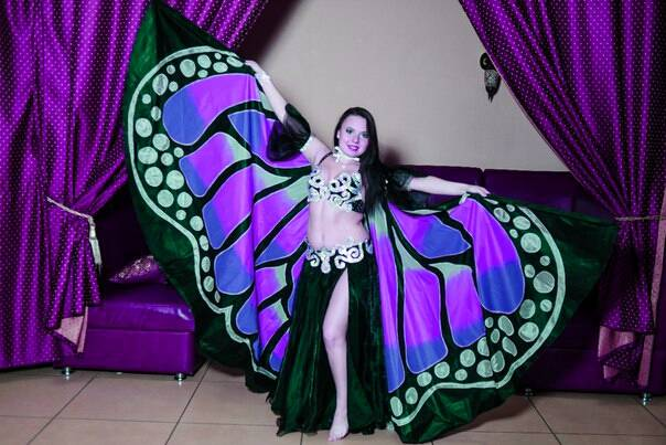 Крылья  для танца живота. 5c461c3449ac6ceee92d90fd24c41ab1056455257025907